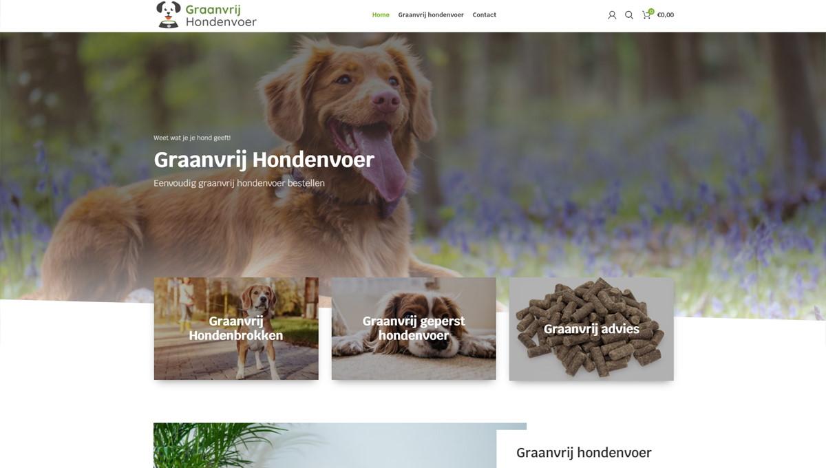 Graanvrij-Hondenvoer